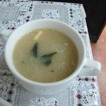 キッチン南海 - 味噌汁