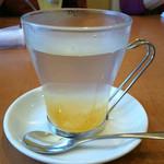 はっちん - ホット柚子茶