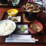 子の口湖畔食堂 - 十和田名物のバラ焼き定食です*\(^o^)/*
