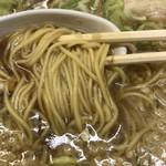 68522564 - 麵屋志知 ラーメン 麺