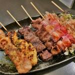 せかんどはうす - 串焼きセット(1250円)