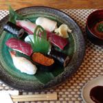 笹鮨 - 寿司ランチ(税別1100円)