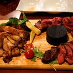 ローストビーフ食べ放題 肉バル Lupin - レアの牛タンがオススメ!