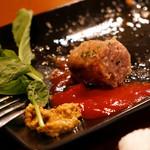 ローストビーフ食べ放題 肉バル Lupin - ソーセージの肉汁がパネェ!
