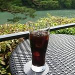 茶寮 八翠 - アイスコーヒー