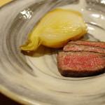 悠然 いしおか - 広島牛リブロースの焼きもの