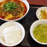 68527316 - 麻婆豆腐ランチ
