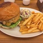 BURGER&MILKSHAKE CRANE - ★8 エッグチーズバーガー