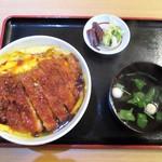 68527721 - かつ丼 1,000円(税込)。  2017.06.10