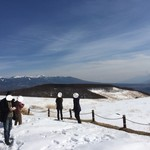 ホテルアンビエント蓼科 - 富士見台駐車場 で雪を満喫