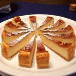 SunSet - ポーランドチーズケーキ セルニク@ボトムは柔らかいクッキー生地