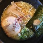 一松家 - 魚介とんこつラーメン セットは6種のラーメンから選択でき 何故か魚介とんこつのみ画像無かったです