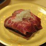 廻転寿司弁慶 - 佐渡牛