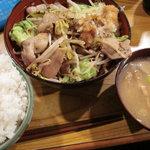 一木 - おろし焼肉定食