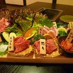 焼肉 菜好牛 - 【まな板盛り 3000円】