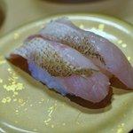 廻転寿司弁慶 - のどぐろ