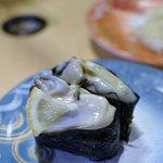 廻転寿司弁慶 - 生牡蠣(宮城県産)
