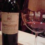 トラットリア・アルベロ - どひゃ!こんな高級ワインをグラスで出してくださるなんて・・・
