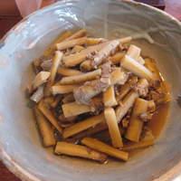mogu - 牛肉とごぼうの煮物