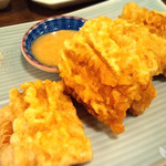 北海道ろばた居心地 - とうきびの天ぷら