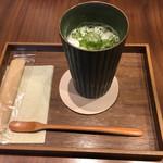68533115 - ふわふわ緑茶ラテ