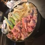 居酒屋 中西 - 牛鍋