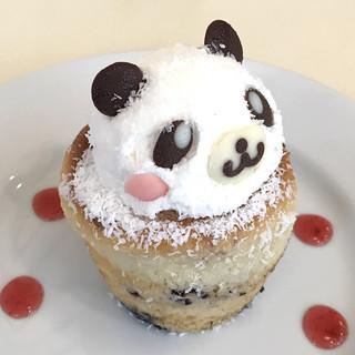 リーム - パンダのブルーベリーマフィン