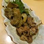 やすけ - 料理写真:鮑の肝煮