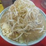 ラーメン 大 - ラーメン並750円、ヤサイニンニクアブラカラメ(2017.4.8)
