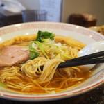 中華そば 向日葵 - 麺アップ
