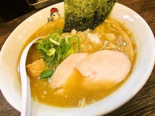 濃厚鶏白湯ラーメン ミスターチキンハート - 濃厚醤油鶏白湯そば