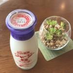 ホテル蒜山ヒルズ - ジャージー牛乳 瓶 140円(税込)