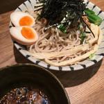 麺屋ぬかじ - 鰹だしの冷やし肉そば 2017.6
