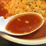 麺屋 集 - サラッとしたスープ