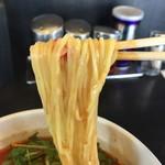 麺屋 集 - 中細麺