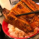 うなどん丼 - Wうな丼980円