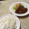 レストラン イト - 料理写真:ハンバーグのセット('17/06/14)