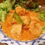 タイ国料理店 ラカン - エビのココナッツ風味