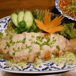 タイ国料理店 ラカン - 豚の焼き物激辛ソース添え