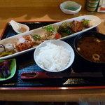 6855115 - 京の創作おばんざいの盛り合わせ膳(1480円)