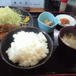 6855476 - 和豚もちぶたのロースカツ定食