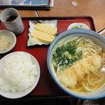 6855696 - 天ぷらうどん定食