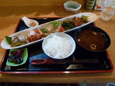 京・ちゃぶ屋ばるJo-Jo - 京の創作おばんざいの盛り合わせ膳(1480円)