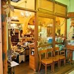 モダナークファームカフェ - お店 入口