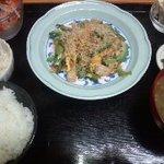 南国キッチン次郎 - 料理写真:ゴーヤチャンプルー定食¥700