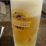 立呑みパラダイス - 一番搾り極冷え生 390円