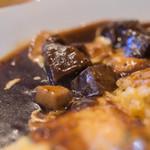 厨 Sawa - 蛋包飯(らいすおむれつ)、牛頬肉(うしほゝにく)