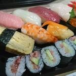 豊寿司 - 料理写真:握り1,5人前 1100円【税込み】
