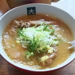 大島 - 味噌らーめん(790円)