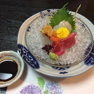 ふじ木 - 料理写真:刺身盛合せ